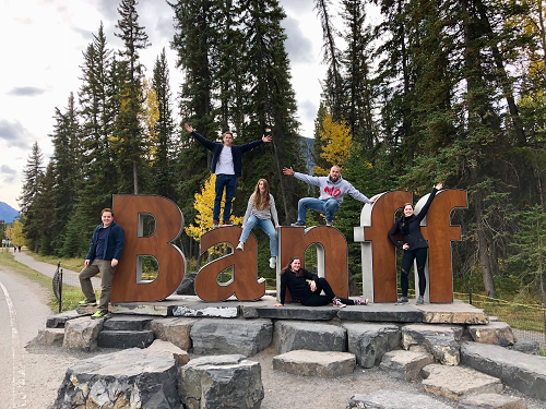 The Padgett Family in Banff