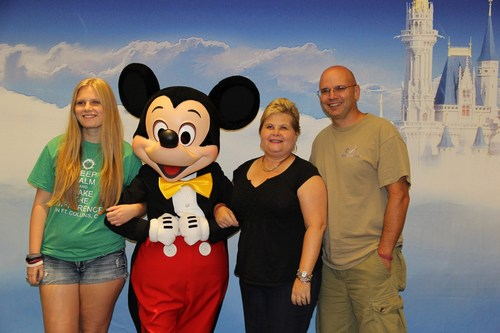 Haleigh, Laura, and Reggie at their Orlando Legacy Retreat in August 2014.