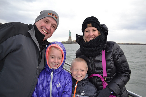 Seeing the Statue of Liberty - Graeme's Favorite NYC Memory