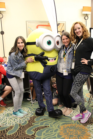The Kendra Scott Orlando team having some fun at a Legacy Retreat in January 2018